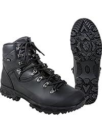 Miltec - Chaussures À Lacets D'une Autre Noire De La Peau, L'homme Noir Noir (noir), 40