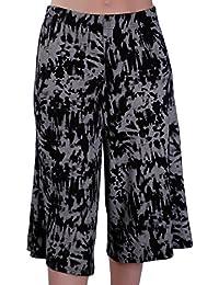 fe4b9723b0cc EyeCatch - Cosima Damen Breite Bein Moderne Frauen Hosenrock Kurzs Hose