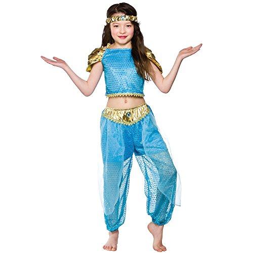 Ragazze arabo principessa Costume di Halloween taglia piccoli 3-4 anni (110-122cm)