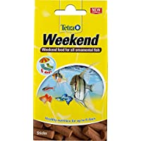 Tetra Min Weekend Fish Food Sticks, Weekend Food for All Ornamental Fish, 10 Sticks