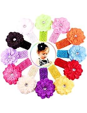 Xiaoyu fasce di fiori multicolori della neonata dolce