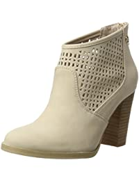 Xti Nude Pu Ladies Ankle Boots ., Chaussures femme