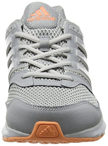 adidas Questar, Running Mixte Adulte Gris (Mid Grey/light Solid Grey/easy Orange)