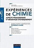 Expériences de chimie - Capes/Agrégation de sciences physiques