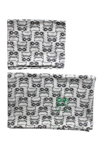 Green Cotton Freds World Babybettwäsche Frogs Frosch WADIE 40 x 60 100 x 135 cm - Baby-bettwäsche-sets Frösche
