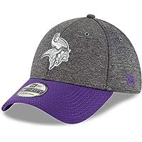 size 40 ea5a9 14812 New Era 39Thirty Cap - Sideline Graphite Minnesota Vikings