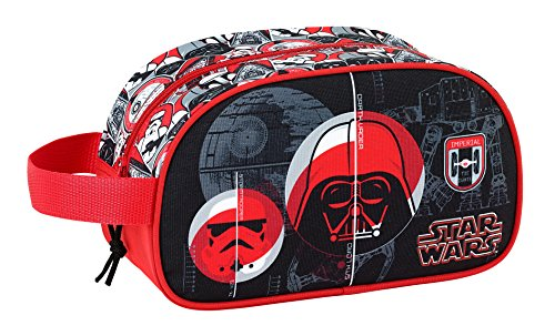 "Safta Neceser Star Wars ""Galactic Mission"" Oficial Mediano con Asa 260x120x150mm"