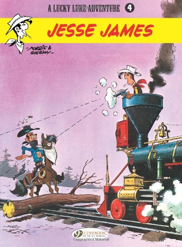 Lucky Luke - tome 4 Jesse James (04) par Morris
