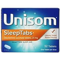 Unisom Night Time Sleep Aid, 32 tabs (Pack of 1)