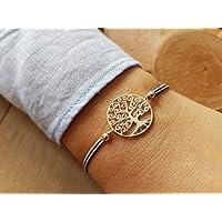 Armband Lebensbaum II 925 silber