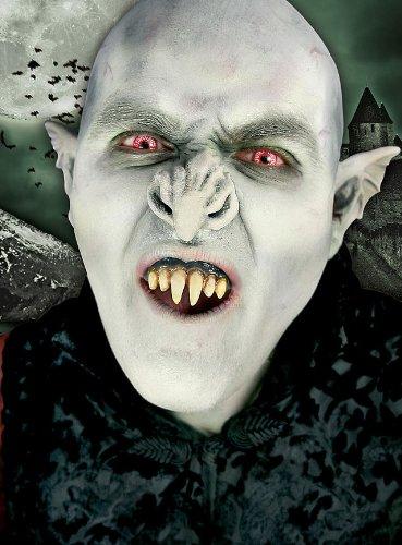 Unbespielt Halloween Karneval Party Kostüm Nosferatu künstliche Zähne ()