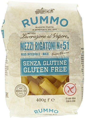 Rummo Mezzi Rigatoni senza Glutine - 400 gr