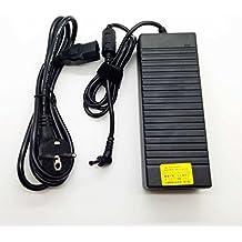 Adaptador Cargador 120W Nuevo y Compatible con portátiles MSI Asus Fujitsu Lenovo Series 19v 6,3a con punta 5.5mm*2.5mm del listado inferior