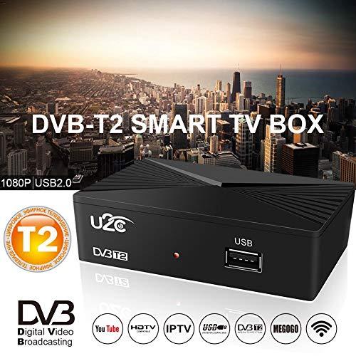 Quiet.T 90 MM DVB-T2 Smart-TV-Box DVB-C HDTV-Netzwerk-Player Erdungssignal-TV-Empfänger