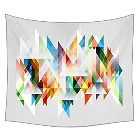 Snoogg Abstract Colourful Theme Wall Hanging Indian Mandala Tapestry Decorative Dorm Tapestry Wall Hanging Beach Picnic Sheet Hippie Tapestry Wall Tapestries , Bohemian
