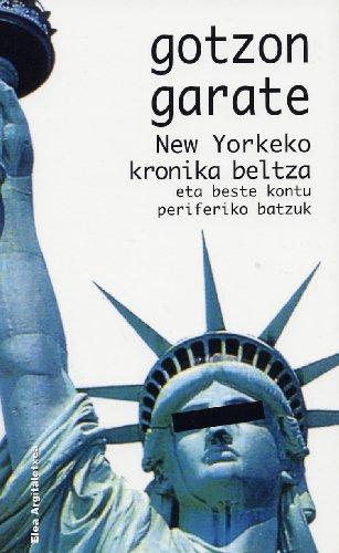 New Yorkeko Kronika Beltza (Narrativa/Narratiba)