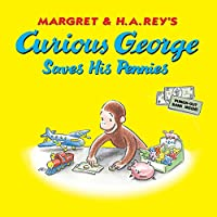 Curious George Saves His Pennies - Dime Bank