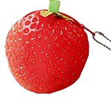 Westeng The New Creative fruit Coin Purse personality 3D printing Coin bag Headphone bag Storage package package