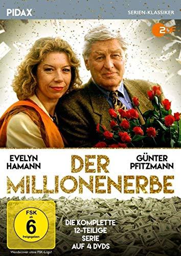 Der Millionenerbe / Die komplette 12-teilige Serie mit Günter Pfitzmann und Evelyn Hamann (Pidax Serien-Klassiker) [4 DVDs]