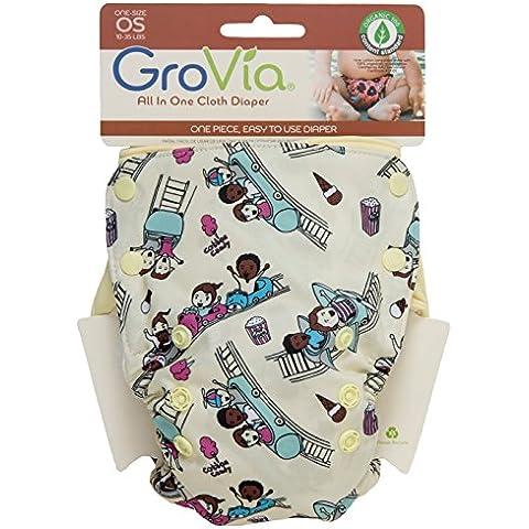 GroVia All in One pannolini per bambini in luna (Soaker Pad)