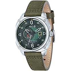 Green Hawker Hunter Relojes de AVI-8