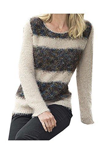 Pullover Damen von Serafini in Beige - Braun Gr. 44