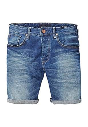 Scotch & Soda Shorts Men RALSTON 135467 Roaming Blue 9Z, Hosengröße:34