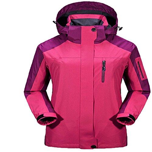 Vestes Outdoor Modèles Masculins Et Féminins Grandes Marées Manteau Verges Saisons Triple Vestes pink