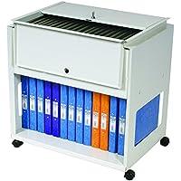 Rotadex 710538 - Soporte portátil para archivadores, blanco
