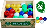#2: Little Genius Beads (Big - 50 Pieces)