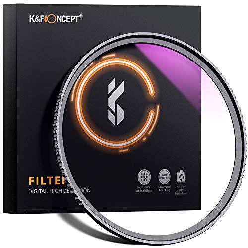 K&F Concept Pro UV-Filter Slim MC UV Schutzfilter 62mm