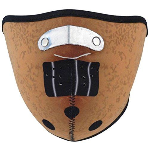 Preisvergleich Produktbild Rock Daddy Halbmaske - Hannibal