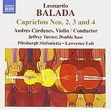 Balada:Caprichos No.2/3/4