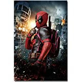 "Europe Style 0131 Deadpool Superheroes Hot New 2016 Movie 24X36"" Print Art Silk Wall Poster"