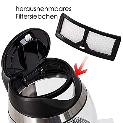KESSER-18L-Edelstahl-Glaswasserkocher-ink-Teesieb-Einsatz-und-Kalk-Filter-Wasserkocher-mit-LED-Beleuchtung-Farbe-je-nach-Temperaturwahl-60-70-80-90-100-C-Warmhaltefunktion
