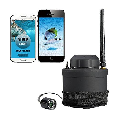 LUCKY Buscador de Peces Portátil WiFi Cámara subacuática Peces grabadora
