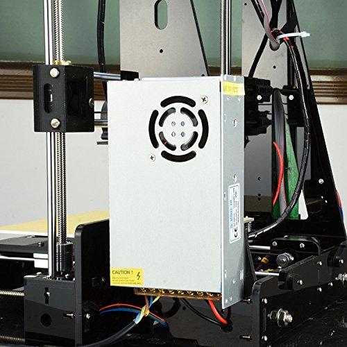 Aufgerüstete Version- ALUNAR 3D Desktop Drucker Self Assembly Reprap Prusa I3 Kit mit Filament - 5