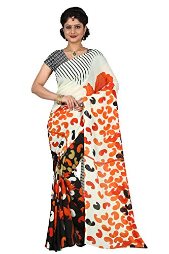 Trendz Women's Georgette Saree (TZ_BagBan_Multi)  available at amazon for Rs.229