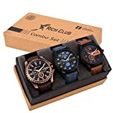 #5: Rich Club Analogue Black Blue Dial Men Watch REL-OCT-DENIM
