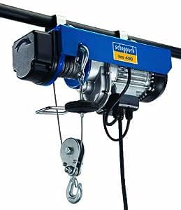 Scheppach hrs 400 4906905000-9930 Treuil électrique 230 V 780 W