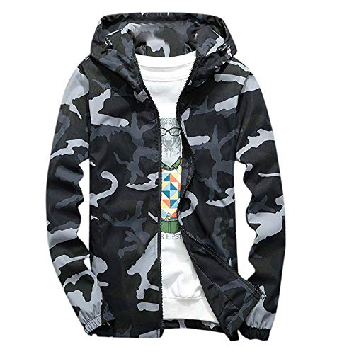 JYJM 2019 Herren Winter Hoodie Softshell gedruckt wasserdicht Winddicht Outdoor Coat Herbst Winter Männer Slim Mantel Langarm Dicker Mantel Warm Hooded Outwear Outerwear Team Fall Herren Jacke