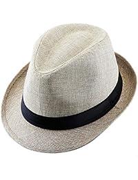 Amazon.es  sombreros de paja hombre - Chapelas   Sombreros y gorras  Ropa ee4bfaf3151
