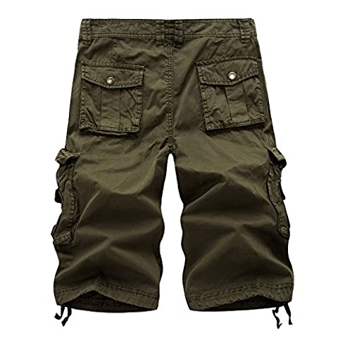 Combat shorts for men (28, A082-Army Green)
