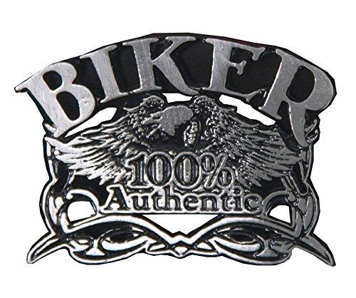 "Pin insignia Aguila ""100 % authentic"" mythic biker"