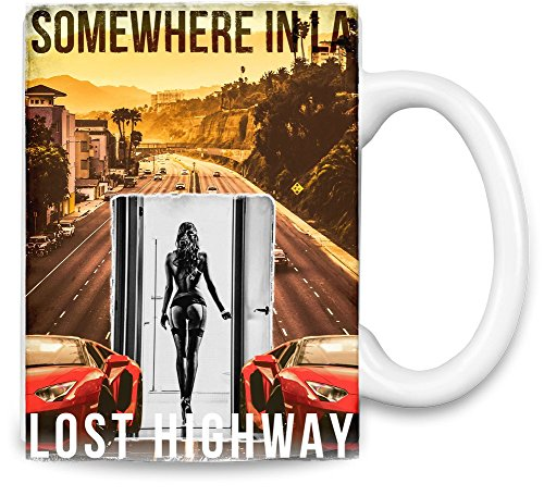 Lost Highway Somewhere In LA Kaffee - Angeles-becher Los