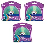 Verbatim 16x DVD+R LightScribe Assorted Color Blank Media, 4.7GB/120min - 30 Pack