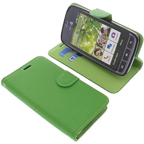 foto-kontor Tasche für Doro Liberto 820 Book Style grün Schutz Hülle Buch