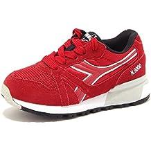 Amazon.it  Sneakers Diadora N9000 - Rosso 6f2b97cb5b4