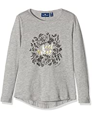 Tom Tailor Longsleeve with Foil Print, T-Shirt à Manches Longues Fille