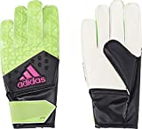 adidas Kinder Torwarthandschuhe Ace, Solar Green/Core Black/Shock Pink S16, 5, AH7813